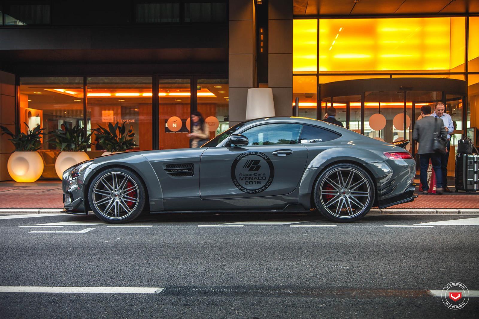Bản độ Mercedes-AMG GT S khá ấn tượng của Prior-Design