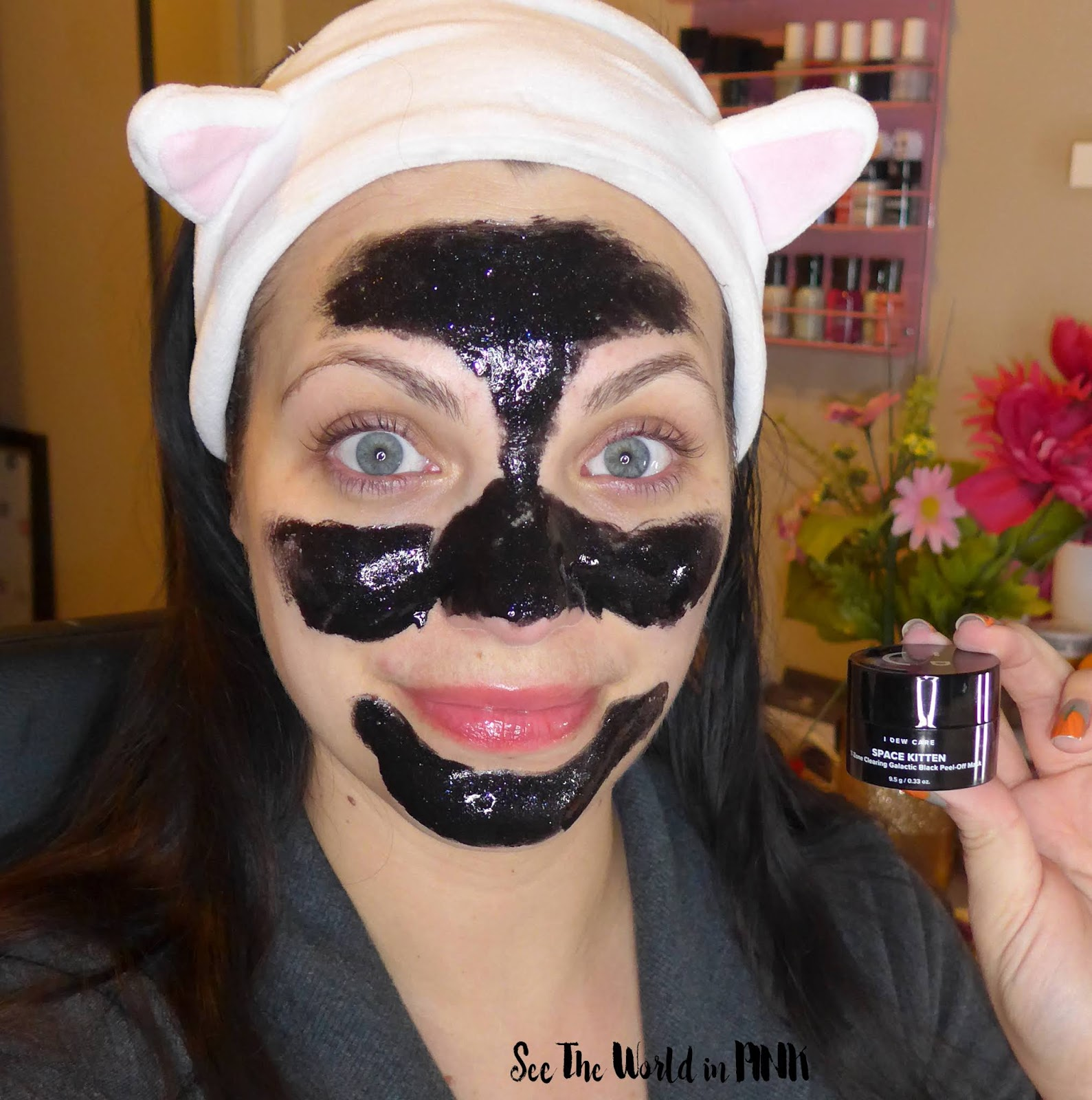 Memebox I Dew Care Mini Meow Trio Space Kitten Mask