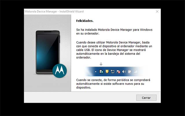Motorola Device Manager
