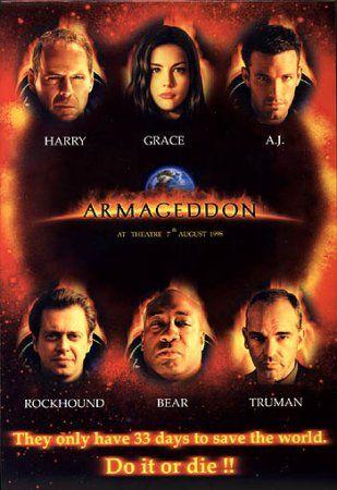 Wilder Movie Reviews: Review of Armageddon: Directors Cut ...
