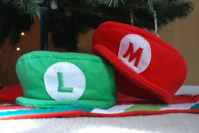 Mario Luigi Hats