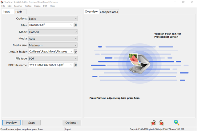 تحميل برنامج VueScan 9.6.40 VueScan+4.png