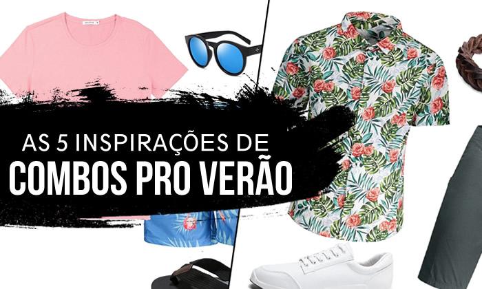 Looks Masculinos para o Verão 2018/2019