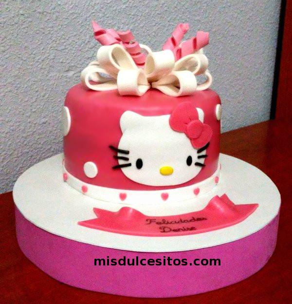 Tortas Hello Kitty. Venta de tortas Hello Kitty en Lima, Perú.