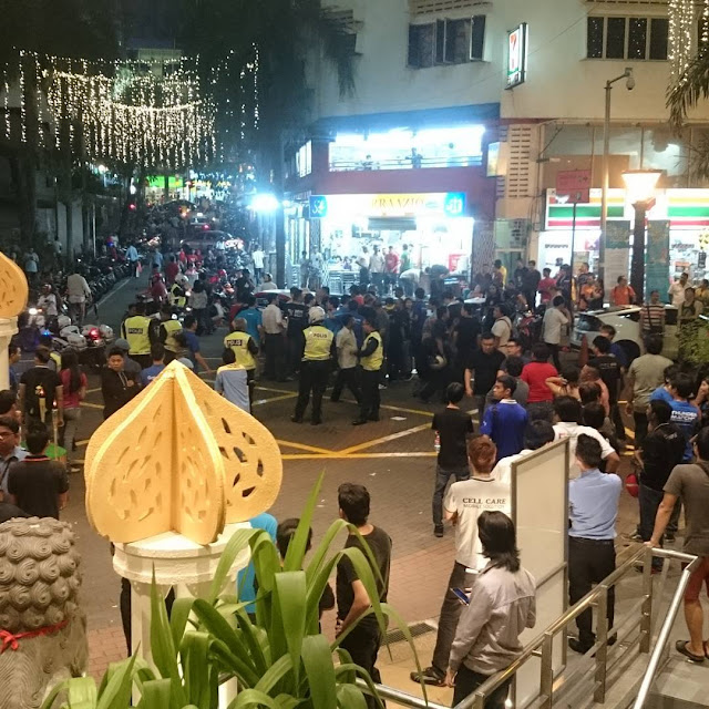 Gambar & Video : Gaduh Di Plaza Lowyat