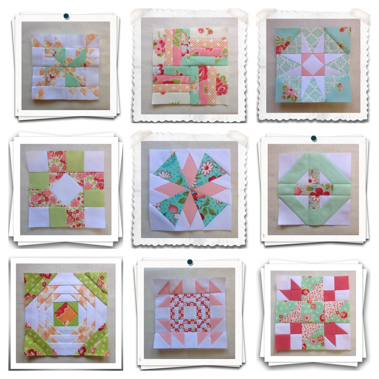 This is a picture of Dramatic Free Printable Quilt Block Patterns