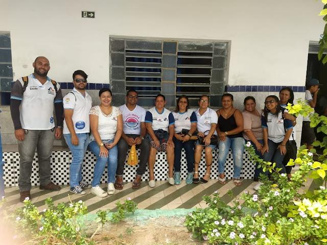 Agentes de Endemias de Delmiro Gouveia realizam palestras educativas nas escolas da rede municipal de ensino