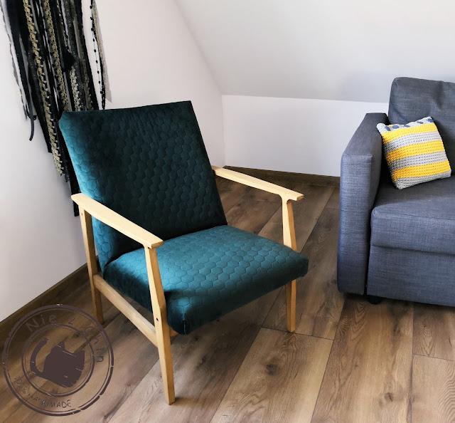 Renowacja starego fotela