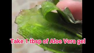 image of aloe vera gel