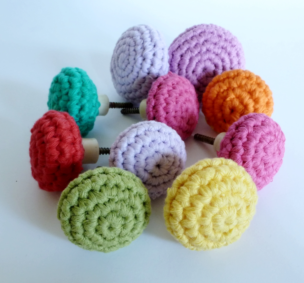 Crochet Draw Knobs