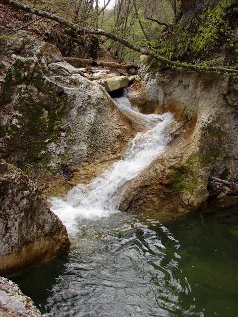 Поход по Крыму - водопад каньона Кок-Асан