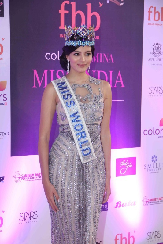 Haryana girl Manushi Chhillar Femina Miss India World 2017