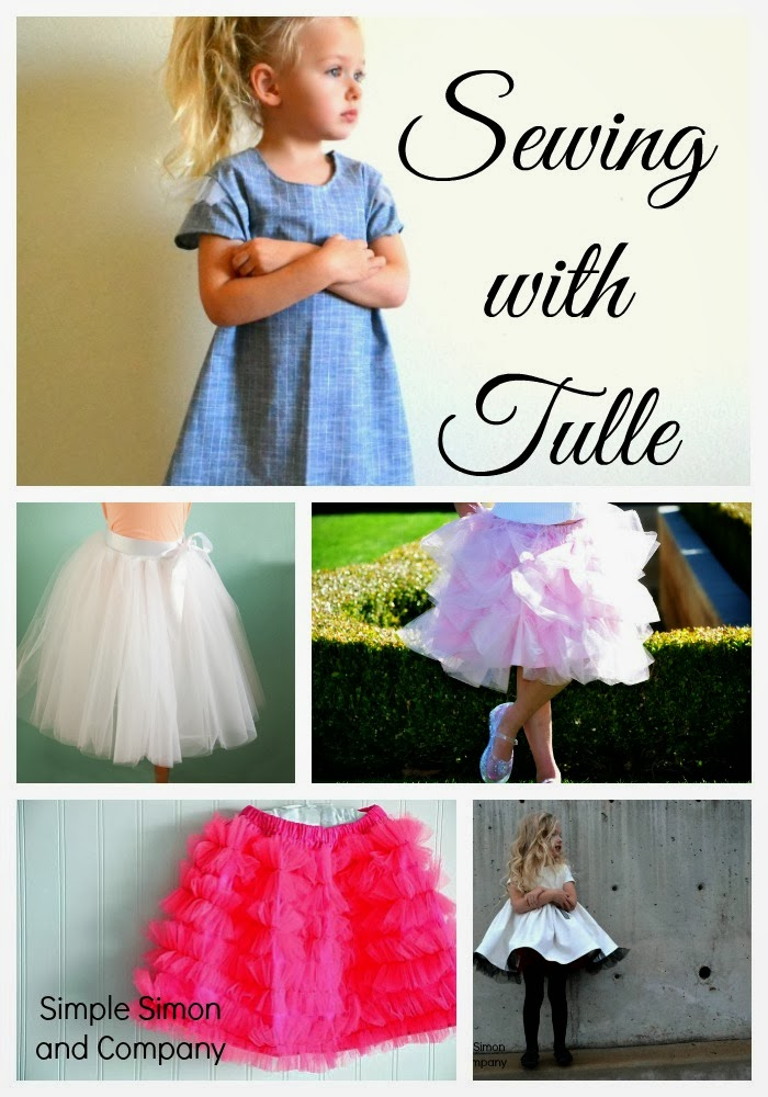 Fantastic Satin and Tulle Skirt Tutorial - Simple Simon and Company BQ41