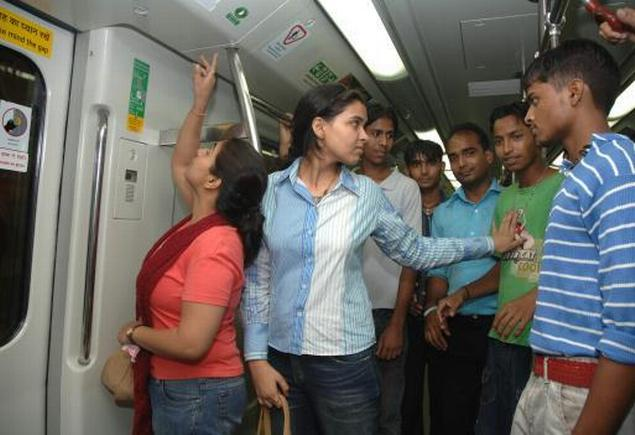 By All Means Necessary: Food and Sex in Delhi Metro