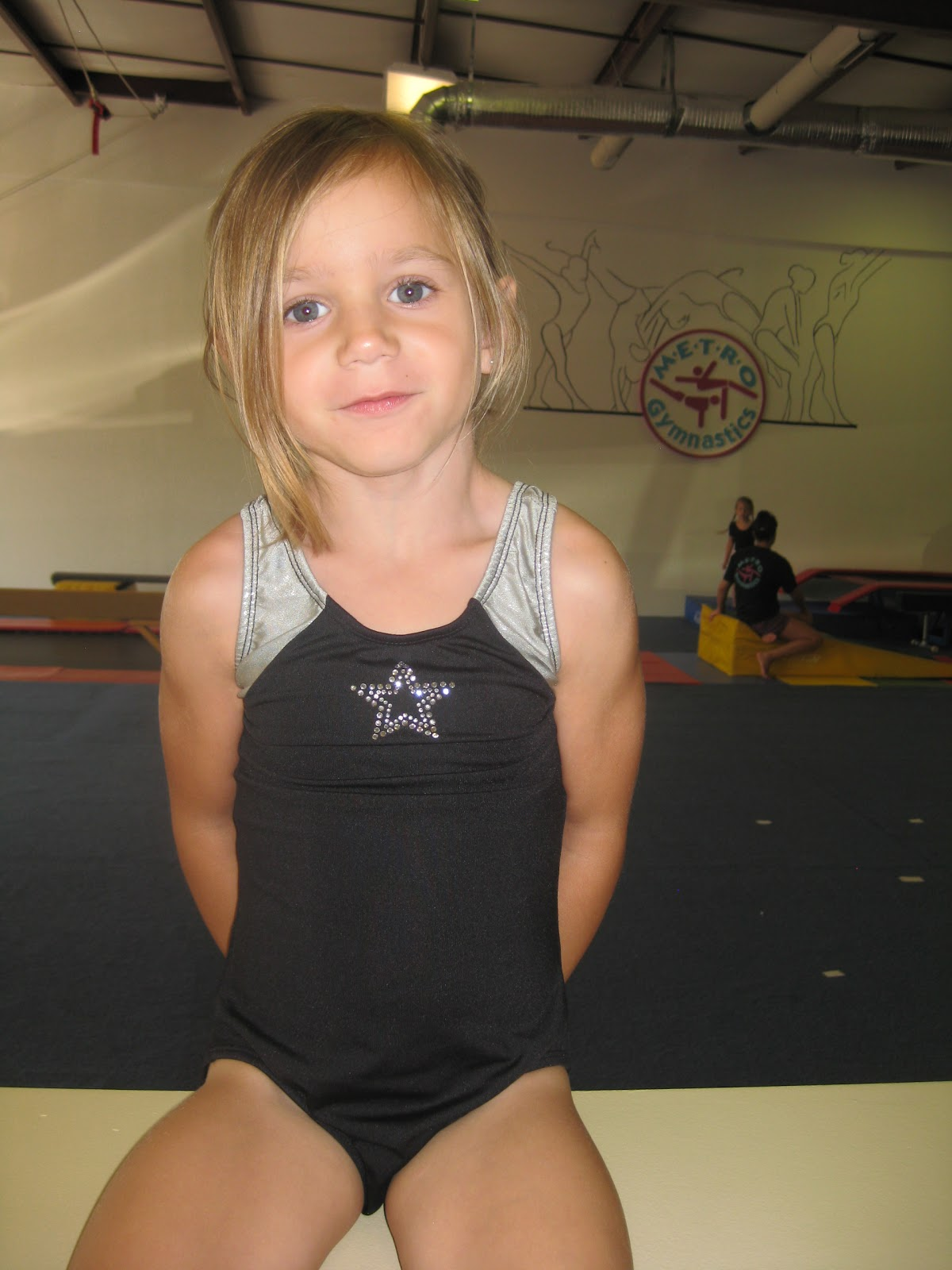 Knight And Day Brooklyn S First Day Of Gymnastics