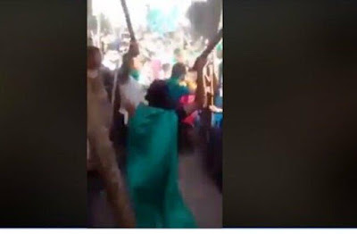 فضيحة جديدة للاخوان, فيديو مفبرك, مولد ابو النعمان الشلبى, سوهاج, مظاهرة ضد الدولة,