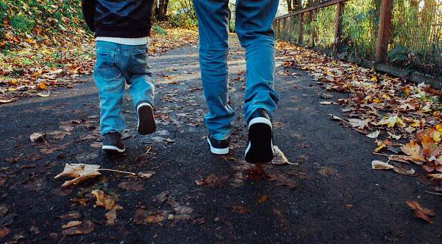 caminar-con-niños-dificil