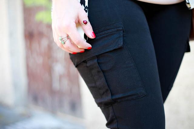 photo poche pantalon cargo