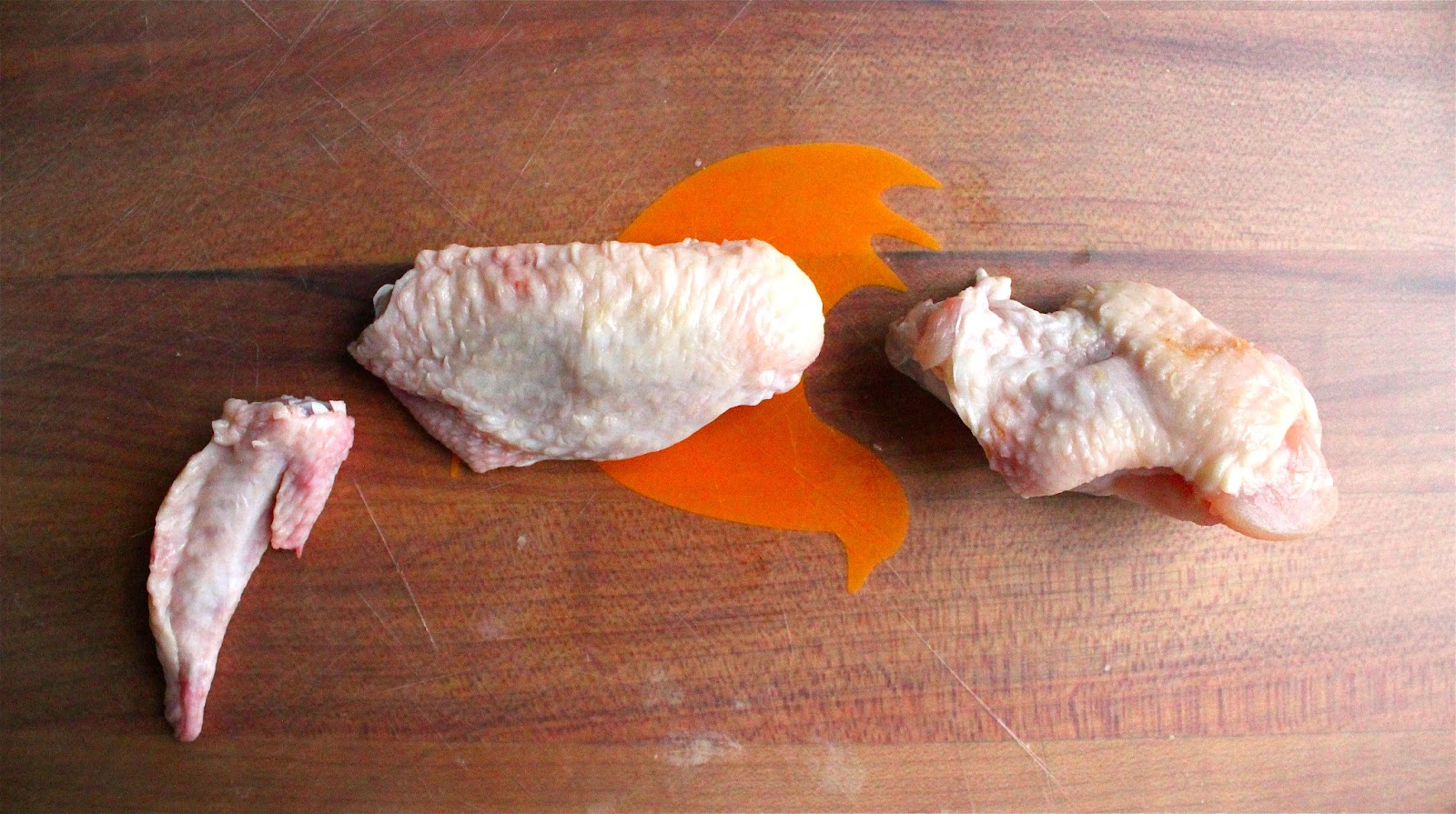 Gallery For > Raw Chicken Wing Dissection