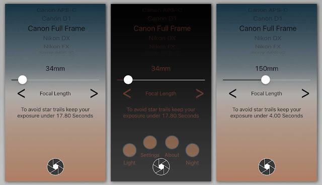 Aplikasi wajib bagi para penghobi fotografi - Dark Skies