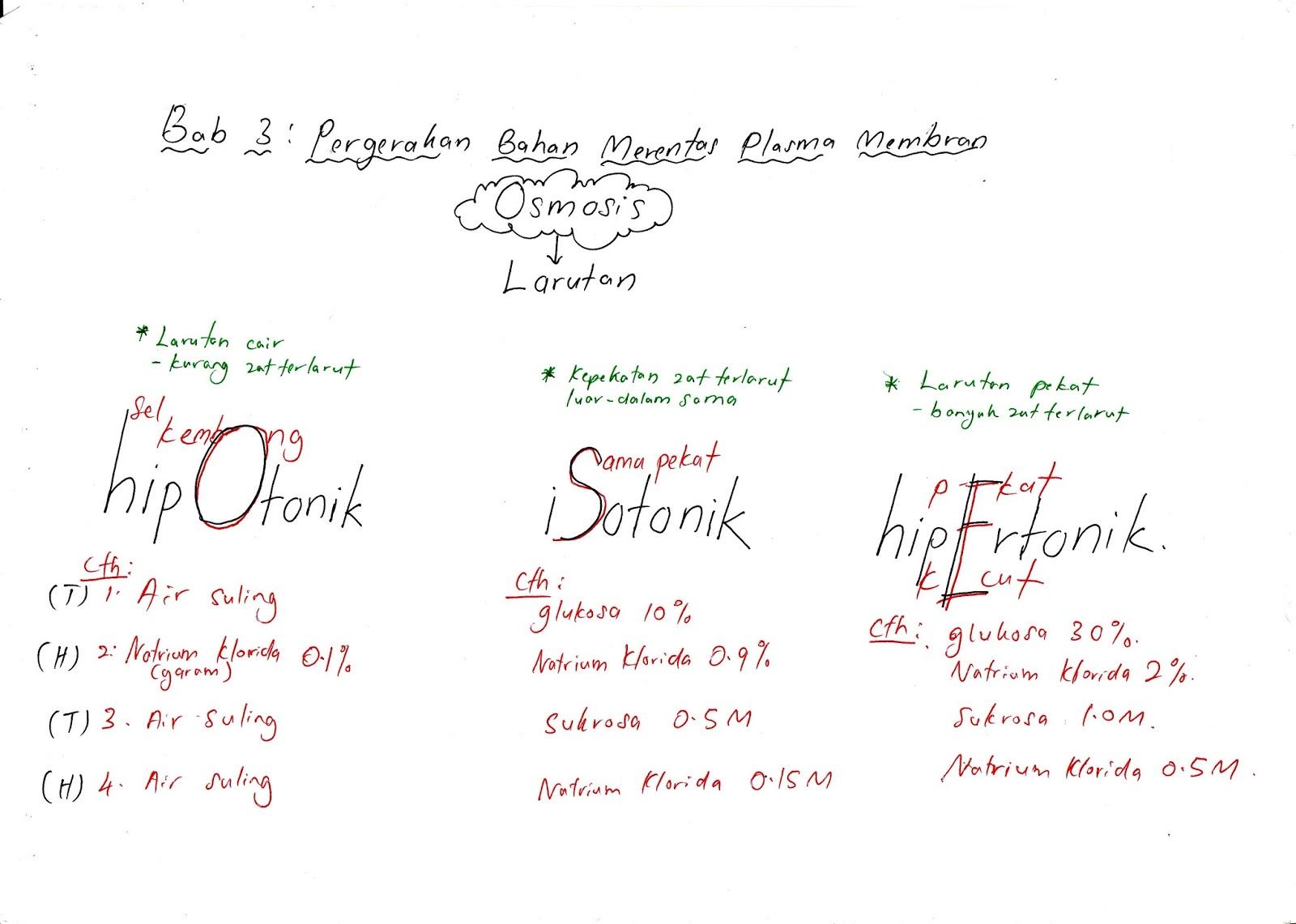 Biology A Nota Kreatif Biologi Credit To Mr Shahril Lizan