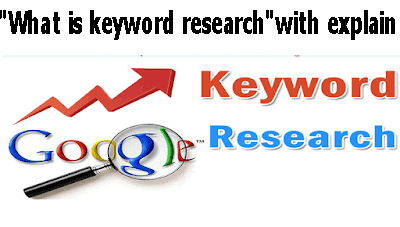 """""""What is keyword research""""with explain"""