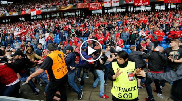 VIDÉO. Émeutes et bagarres dans le stade avant Liverpool-Séville