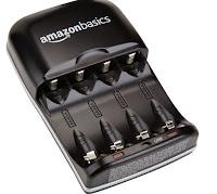 caricabatterie AmazonBasics - Carica batterie