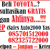 Promo Akhir Tahun Toyota Bogor
