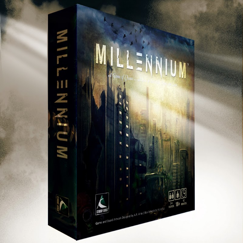 Millennium-The Board Game will be Available December 2017