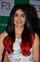 Bollywood Actress Adah Sharma Pos in White Printed Short Dress at OPPO F3 Plus Selfie Expert Mobile Launch .COM 0060.jpg