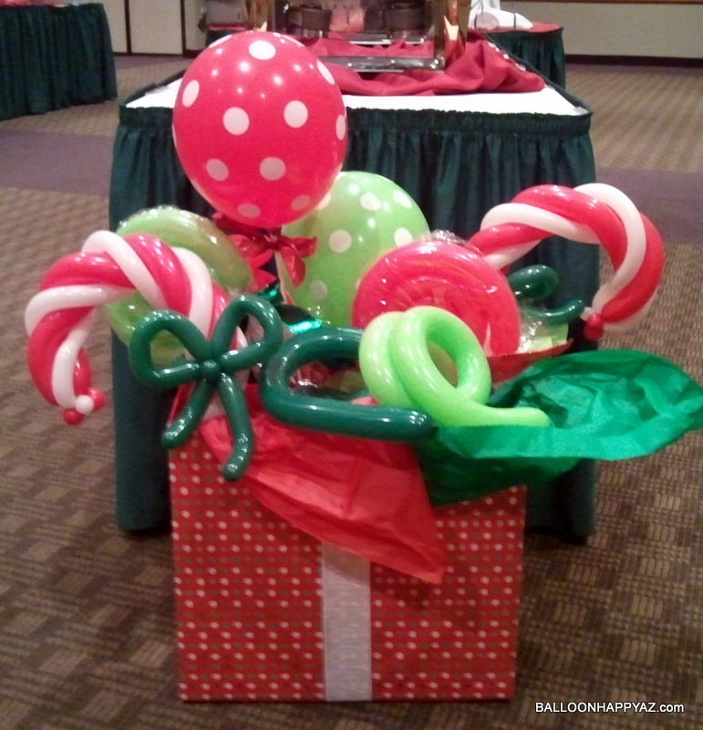 Balloon Happy AZ: Christmas Trees & Santa's Workshop - BALLOONS!