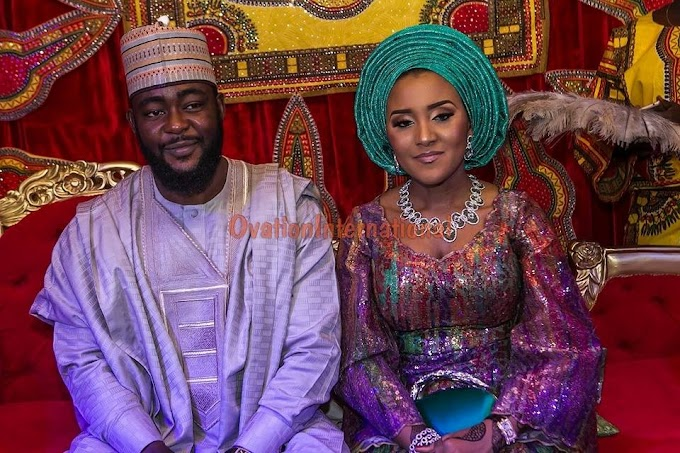 Photos: Daughter of Africa's richest man, Fatima Aliko Dangote marries in Kano