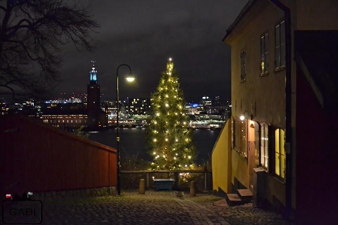 Stockholmsjul, czyli świąteczne dekoracje w Sztokholmie