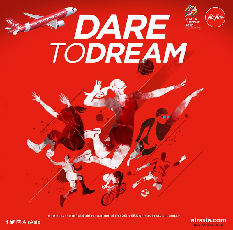 Air Asia Dare to Dream SEA Games 2017 Kuala Lumpur