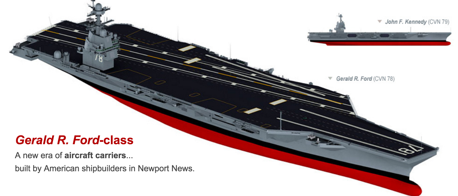 US Navy and Naval Aircraft: News - Page 6 Fordcarrier