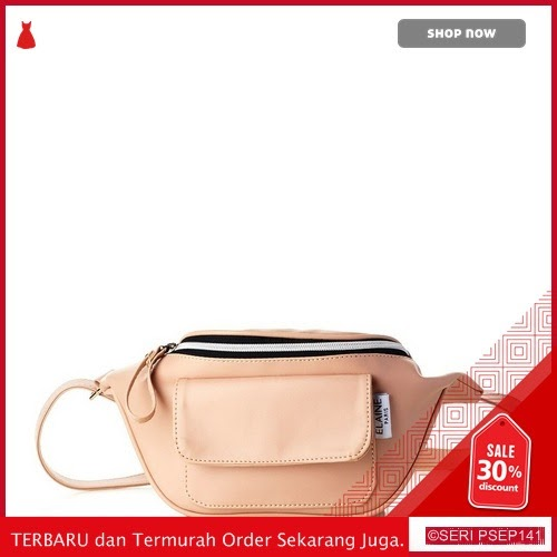 BAG563  Tas Pinggang Wanita Waist Bag Wanita Kasual 32NV005577 Navy | BMGShop