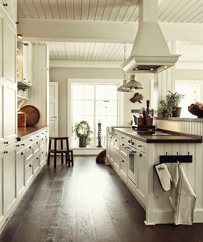 Kitchen Decor Inspiration: Decor Inspiration A Farmhouse New England Style With Thai