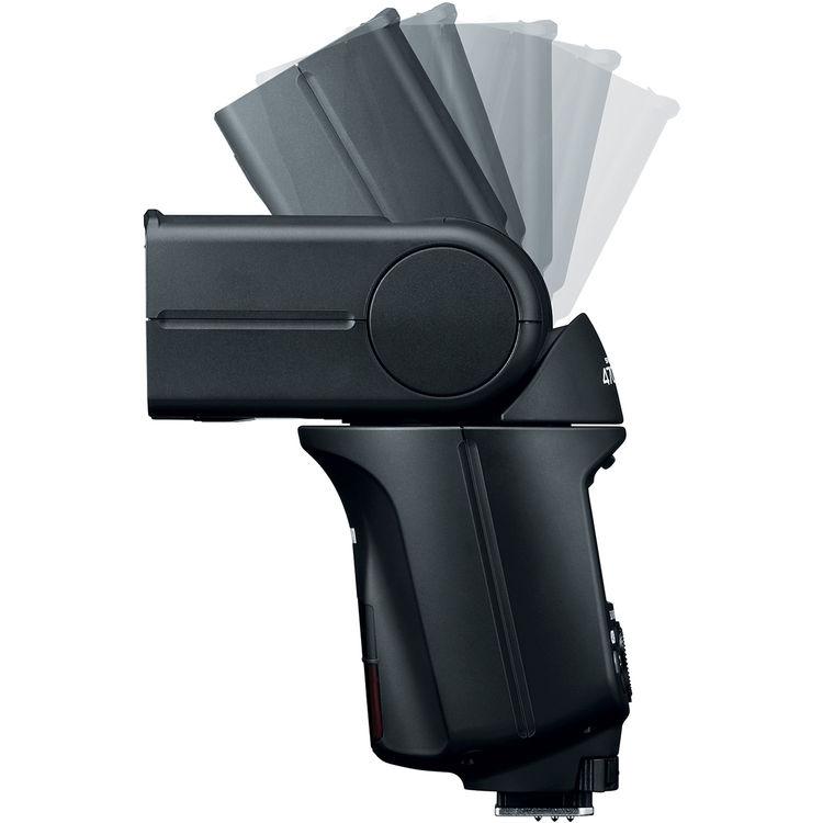 Вспышка Canon Speedlite 470EX-AI, поворот по вертикали