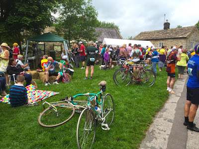 The refreshment stop in Eyam