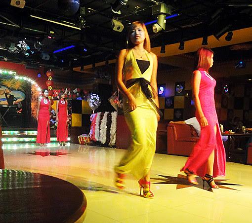asia entertainment bar and fashion show