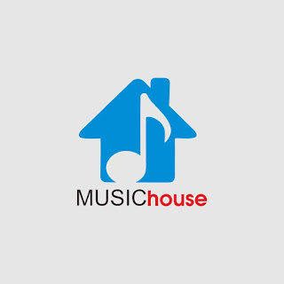 Music House Logo Free Download Vector CDR, AI, EPS and PNG Formats