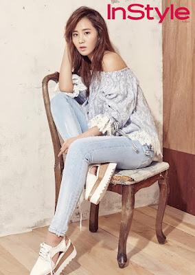 Yuri SNSD Girls Generation Vivian InStyle April 2016