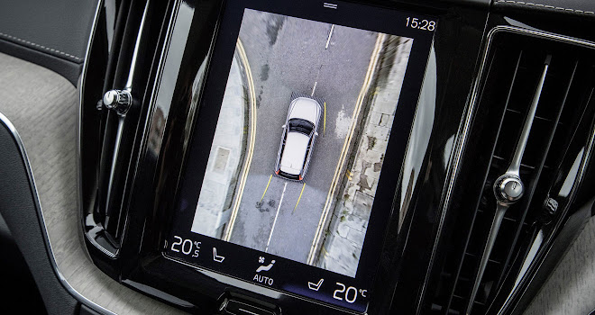 Volvo XC60 surround camera view