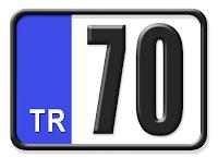70 Karaman Plaka Kodu
