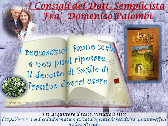 """I """"Reumatismi"""" e I Consigli del Dottor Semplicista©"""