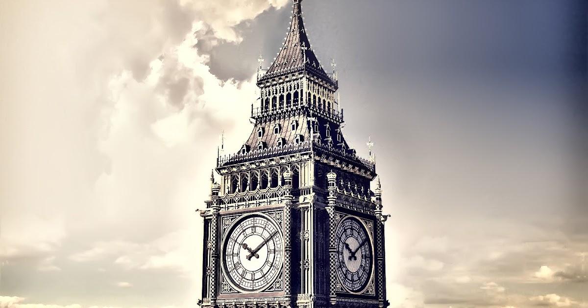 Desktop Wallpaper: London Big Ben Clock Tower Desktop