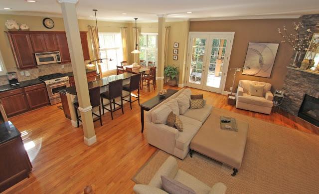 Desain ruang tamu terbuka - Desain ruang tamu pada rumah minimalis sederhana