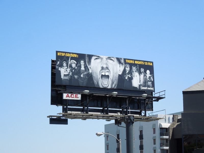 NTSFSDSUV season two billboard
