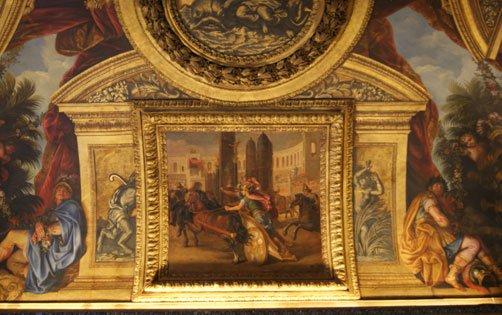 Salon de Vénus, Versailles, arche d'alliance.